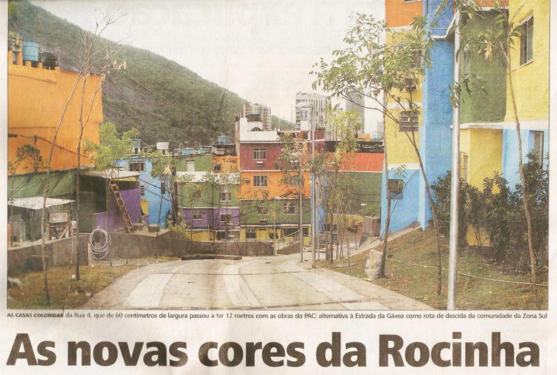 Rocinha - Jornal Extra - 19 de dezembro de 2010